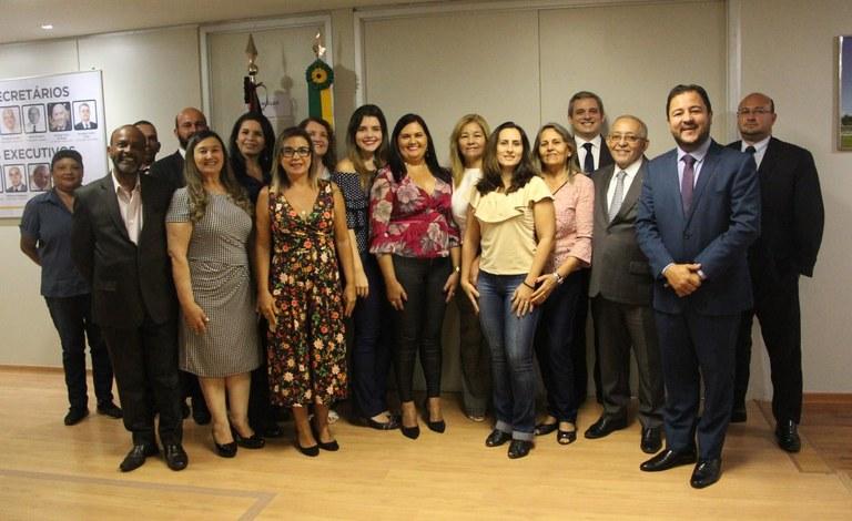 Equipe da Secretaria de Representação Institucional