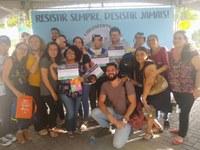Equipe Técnica Da Fundac e da Escola Almirante Saldanha prestigiaram a entrega de prêmios