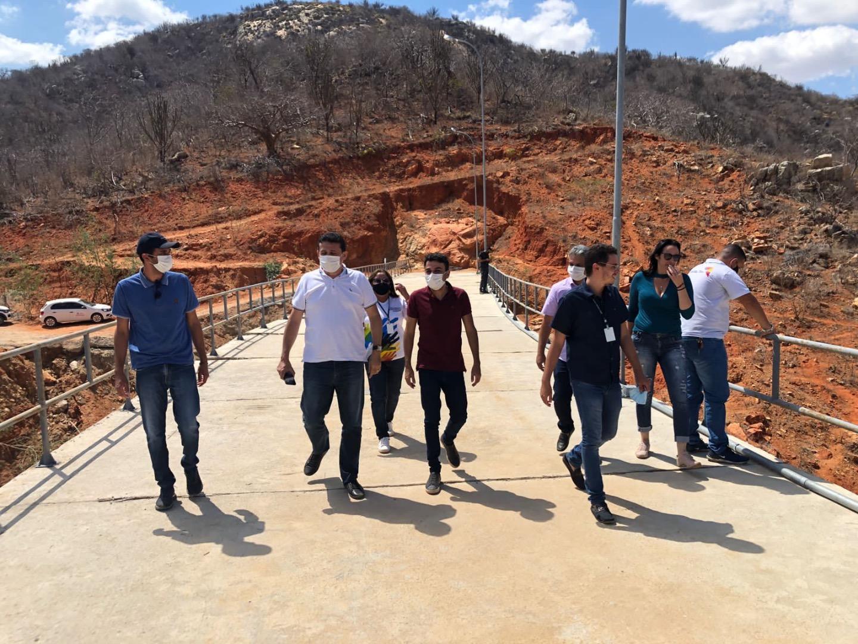 Conselheiros do Orçamento Democrático fazem visita técnica a obras no Curimataú
