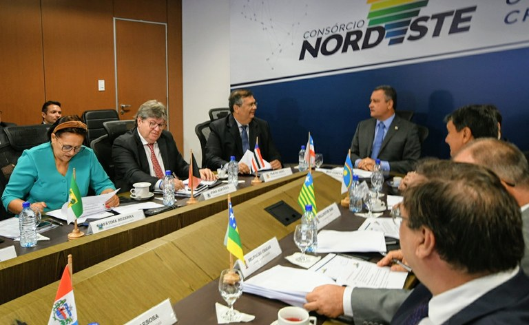 Consórcio Nordeste: João Azevêdo e demais governadores definem ...