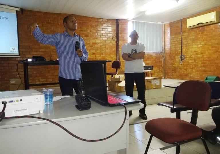 BPTran e SEMOB treinamento de radio digital 3