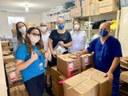 A equipe do Hospital que recebeu o material doado.jpeg