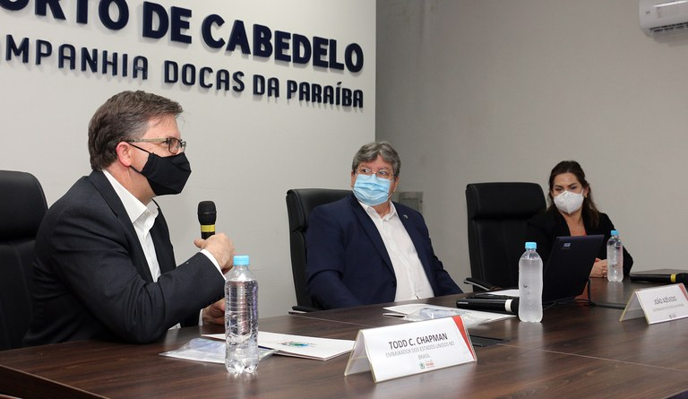Embaixador americano porto cabedelo foto Francisco França Secom PB (5).JPG