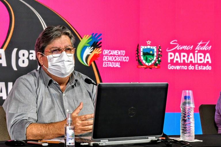 João Azevêdo destaca investimentos de R$ 297 milhões nas regiões de Catolé,  Princesa e Pombal em audiência do Orçamento Democrático — Governo da Paraíba