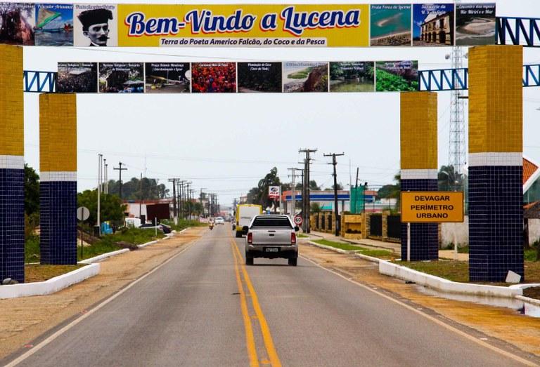 João Azevêdo entrega restauração de rodovia de Lucena — Governo da Paraíba  Secretária de Comunicação