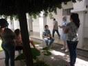 Acompanhantes de pacientes também participaram das atividades.jpg
