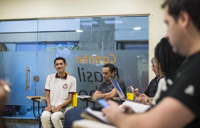 seect empresas ligadas ao programa primeira chance entrevistam alunos para estagio foto diogo nobrega (4).jpg