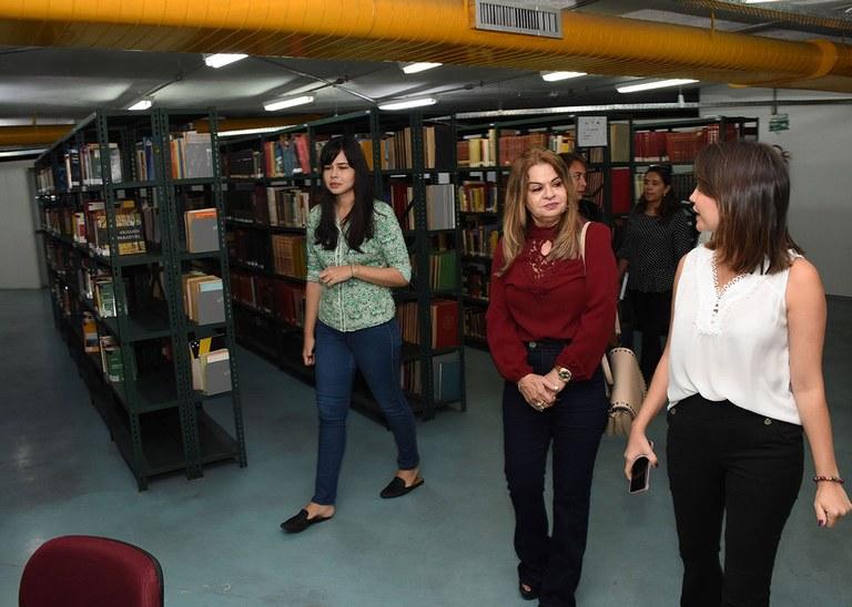 16_05_19 Visita da primeira-dama ao Espaço Cultural Fotos André Lúcio (1).JPG