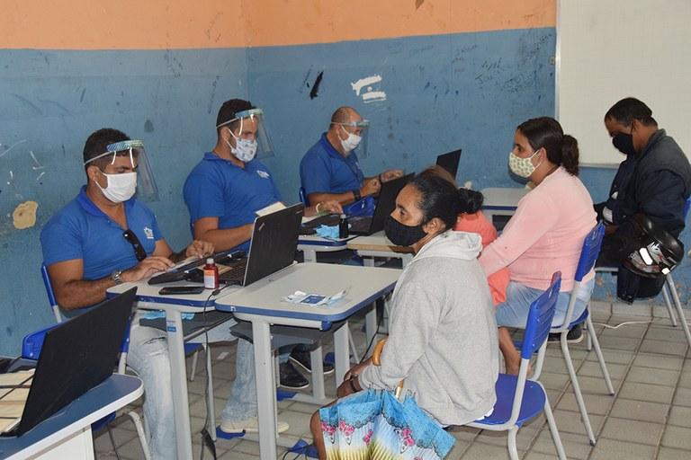 Programa cidadão  retorna as ações itinerantes para emissão de documentos  foto-Alberto Machado (6).JPG
