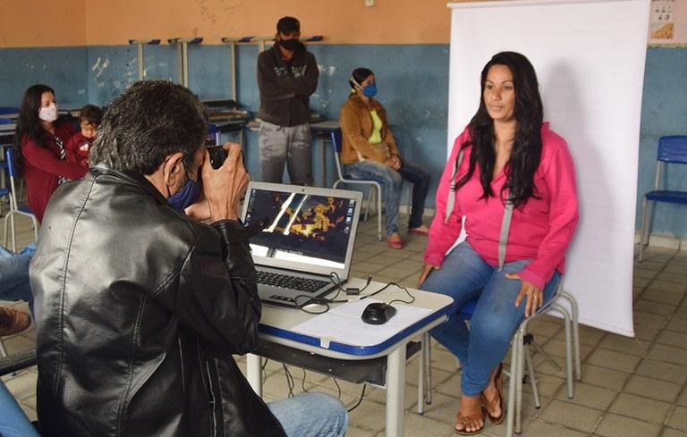 Programa cidadão  retorna as ações itinerantes para emissão de documentos  foto-Alberto Machado (7).JPG