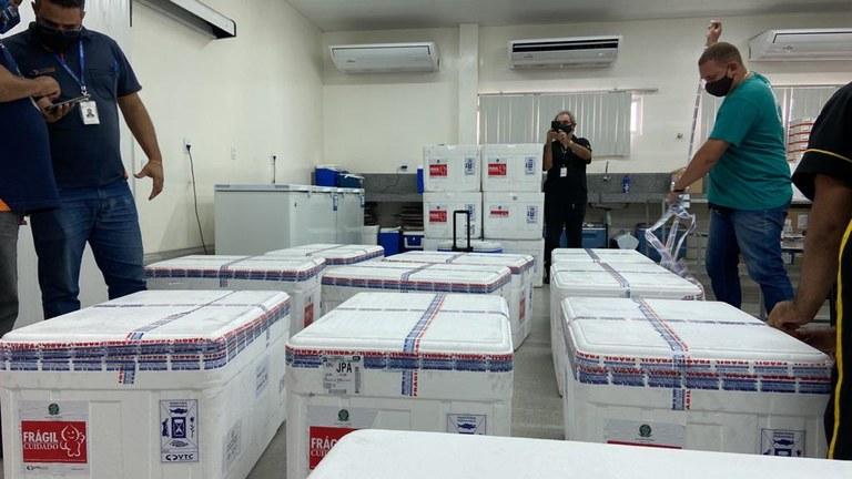 Saúde distribui 150.343 doses de imunizantes contra a ...