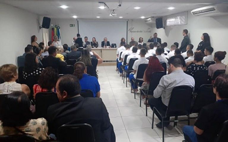 Socioeducandos do Lar do Garoto iniciam curso de Aprendizagem Profissional Jovem Aprendiz (4).jpg